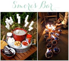 Table Top S'mores (http://blog.hgtv.com/design/2013/06/19/daily-delight-table-top-smores/?soc=pinterest)