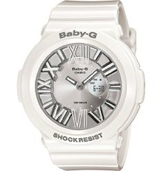 Casio Baby G Neon Illuminator Gray Dial Women's Watch - BGA160-7B1 Casio. $81.99