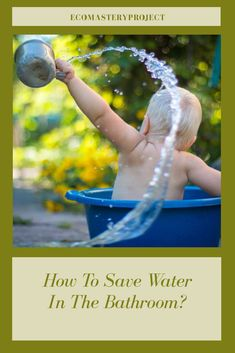 It is easy to save water and to get how to save water having all the resources accessible online. Once you are ready to start saving water, both for our surroundings and your water bill each month, the washroom is a good option for making a water-saving decision.