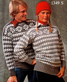 Free, not in English. Nordic Pullover, Nordic Sweater, Men Sweater, Fair Isle Knitting, Hand Knitting, Knitting Designs, Knitting Projects, Norwegian Knitting, Scandinavian Fashion