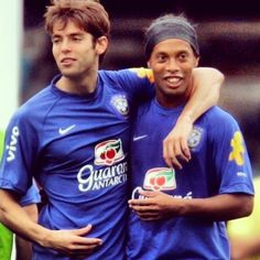 Kaka and Ronaldinho  Brazil national football team