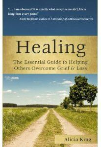 """I'm not sure about this....books/therapy never helped me grieve, but maybe this one would..... """"The Grief Lady,"""" Alicia King is featured on D Talk Radio about grief during the holidays with Denise Brown and Danielle Pierre"""