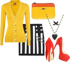 """taxi cab"" by tessuz on Polyvore"