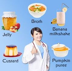 Soft diet foods (I don't think that eating jelly is good for your teeth!)