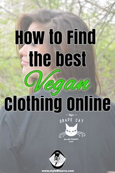 Who else wants to find the best vegan online stores and get sustainable, ethical and cruelty-free clothing?
