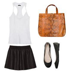 Shopping Bag Laranja