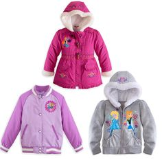 Girl Princess Jacket Coat 3-9Y Outwear Clothes Hoodies Winter Warm Snowsuit Kids # #BasicJacket #DressyEverydayHoliday