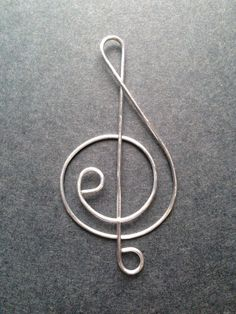 Hey, I found this really awesome Etsy listing at https://www.etsy.com/listing/174381859/music-note-wire-bookmark-treble-clef