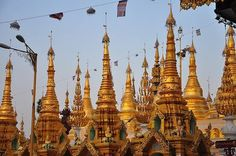 The Shwedagon Pagoda ;, ; officially titled Shwedagon Zedi Daw , also known in English as the Great Dagon Pagoda and the Golden Pagoda, is a 99m gilded pagoda and stupa located...
