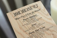 Digital Western Menu Template black font by TwoYellowShoes on Etsy, $25.00