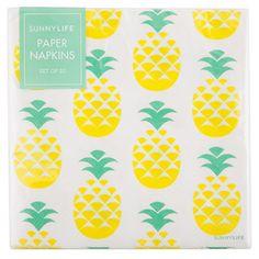 Pineapple Paper Napkins