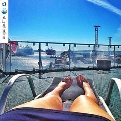 Kesä jatkuu laivan kannella! Lähde risteilylle  nauttimaan auringosta ja merituulista. #aurinko #kesä #kesäloma #laivalla #sun #sunbathing #cruise #Repost @st_peterline with @repostapp ・・・ Hot summer in the Baltic Sea :) #stpeterline #PrincessMaria #лето #отдых #Балтийскоеморе #спб #ялюблюморе