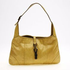 ccd5f22dfe8f Gucci Jackie Python Medium Shoulder Bag. Get one of the hottest styles of  the season
