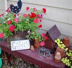 pinterest flea market garden 2015 - - Yahoo Image Search Results