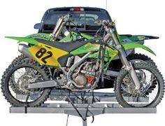 "Amazon.com: Aluminum Motocross & Dirt Bike Double Hitch Mounted Carrier AMC-600-2 for 2"" Receivers: Automotive"