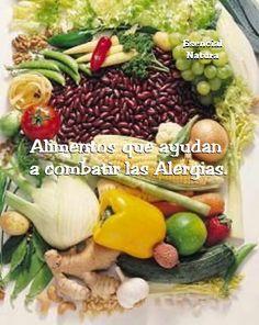 Info: Antihistamínicos naturales. Alimentos que ayudan a combatir las Alergias.