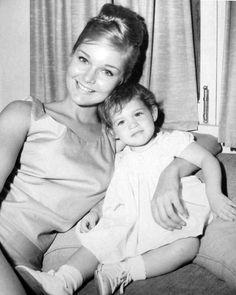 Carol Lynley with daughter Jill