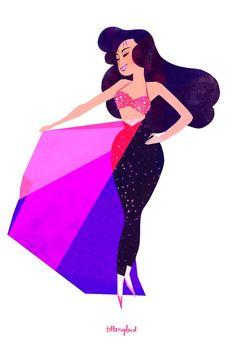 Selena - bidi bidi bom bom, everybody by Tiffany Ford atofu - toffany