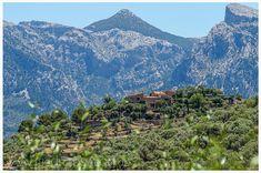 Hotel Son Bleda im Tramuntana bei Soller auf Mallorca. Eine traumhafte Oase der Ruhe mit einen gigantischen Blick ins Tramuntana Gebirge.
