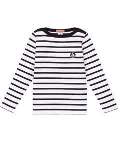 Petit Bateau tijdloze gestreepte t-shirt in dikke jersey #emilea