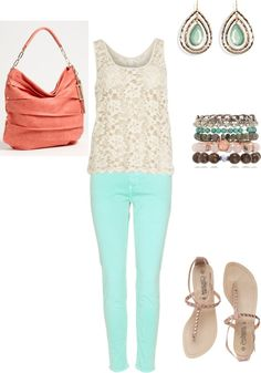 """""""Cute summer date outfit"""" by kdwuznik on Polyvore"""