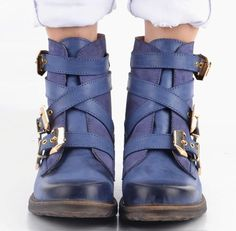 88675950809 Women Fashion Vintage Leather Ankle Boots – Kaaum Boot Types