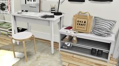 MXIMS - IKEA Office Set, Tjusig Hallway Set and DC Shoes...