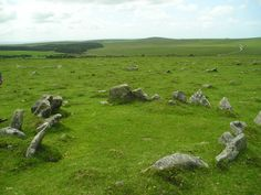 Stone circle near Rough Tor England Ireland, Cornwall England, Top Destinations, Bronze Age, Monuments, Wales, Circles, United Kingdom, Britain