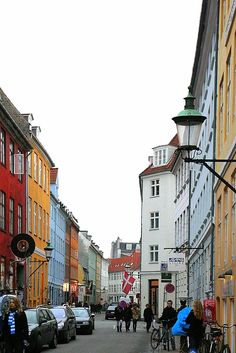 Latin Quarter #Copenhagen - Some of the best streets for shopping, bars/café´s and restaurants (by unknown)