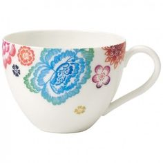 Anmut Bloom Tea Cup 6 3/4 oz