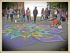 Sand Art, Washington Square Park NYC     To learn about Joe Mangrum, the amazing NYC sand artist, visit his site:   www.joemangrum.com.