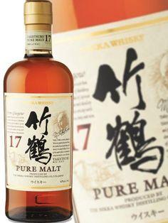 Nikka Taketsuru 17 YO Nikka Whisky, Top Drinks, Whiskey Bottle, Japan, Pure Products, Hokkaido, Japanese