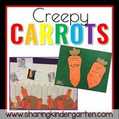 creepy carrots literacy activity Reading Comprehension Games, Center Labels, Math Groups, Kindergarten Reading, Busy Book, Literacy Activities, Classic Toys, First Day Of School, Pre School