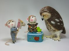 Needle Felting / Needle Felted Creations By Barby Anderson: December 2011