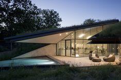 Wonen in een Noord-Amerikaanse berg - Edgeland house, Bercy Chen Studio - Wonen Voor Mannen