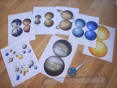 Les Montessouris: Système solaire : premières approches