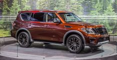 The new, second-gen Nissan Armada finally arrives 12 years after the first one. Read more about the Patrol-based Armada and see images at Car and Driver. Large Suv, Chicago Auto Show, New Nissan, Chevrolet Tahoe, Chevy C10, Nissan Patrol, Luxury Suv, Release Date, Fuel Economy