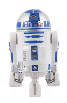 Ben je aan het sparen voor een robot? R2D2 van Star Wars zal je geld wel bewaken, als je een munt in deze spaarpot gooit hoor je de karakteristieke geluidjes van de robot. Je koopt de spaarpot bij Superhelden-kinderkleding.