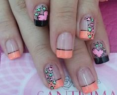 Nails                                                                                                                                                                                 Más Love Nails, Pretty Nails, Iris Nails, Nail Picking, Sexy Nail Art, Pedicure, Fingernails Painted, Vacation Nails, Nails 2017