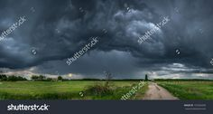 Storm Zone Стоковые фотографии 191026430 : Shutterstock Splashback, Beautiful Places, Photo Editing, Royalty Free Stock Photos, Country Roads, Clouds, Landscape, Hungary, Illustration