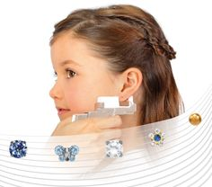 Studex System 75 Is A Safe And Gentle Ear Piercing With Gorgeous Studs Perfect For Children Send Us Your Country Zip Code