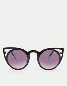 Quay Invador Cat-Eye Sunglasses