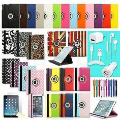 360 Degree Rotating PU Leather Case + Accessories For Apple iPad Air 5 5th Gen[England Flag,With Smart Wake / Sleep Func