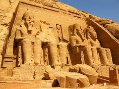 Tempel von Abu Simbel - Sehenswürdigkeit in Ägypten