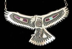 Native American hawk symbol is believed to represent a bringer of messages and warnings of change.