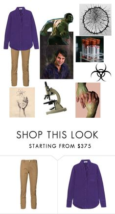 """""""Hulk / Bruce Banner - Avengers"""" by beckybesel ❤ liked on Polyvore featuring Veronica Beard and Prada"""