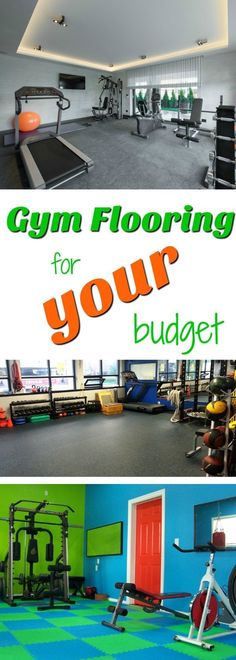 Home Gym Flooring for Your Budget: A complete guide to choosing the best home gym flooring for your budget.