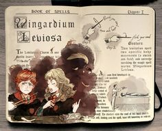 Harry Potter: Wingardium Leviosa by Picolo-kun.deviantart.com on @DeviantArt