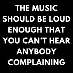 The only when to listen.