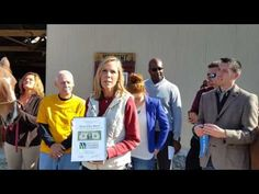 Ribbon cutting -Strong Tower Ranch - YouTube